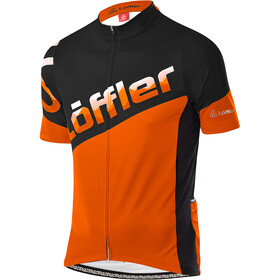 Löffler Messenger Full-Zip Bike Jersey Men, flame